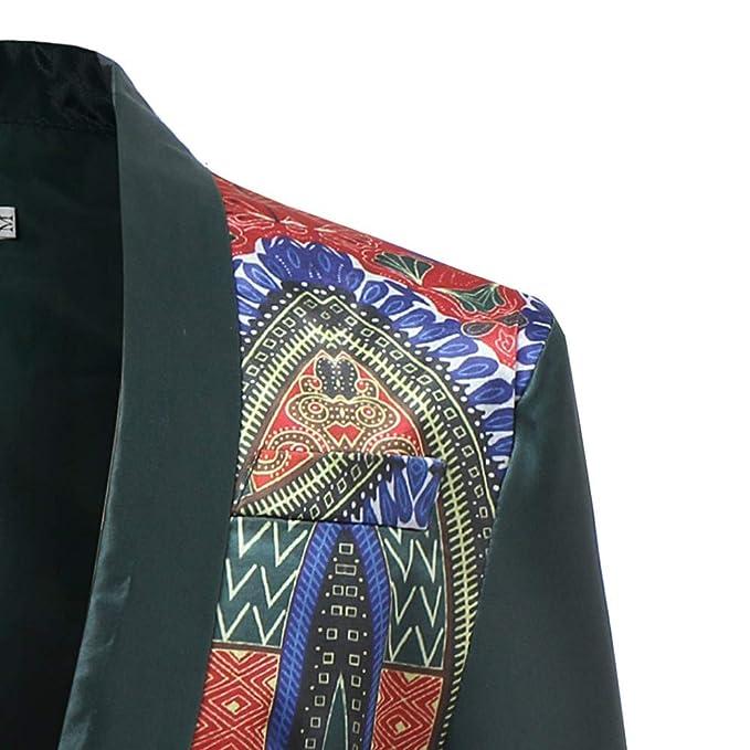 fbR8wawOKPHoYL9 Mens African Dashiki Printed Ruffle Shawl Collar Cardigan Coat at Amazon Mens Clothing store: