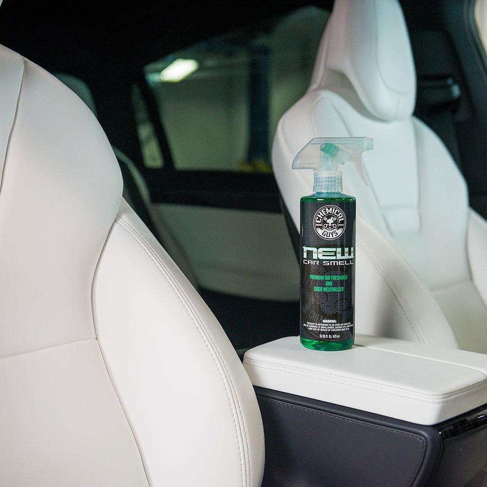 galleon chemical guys air 101 new car smell premium air freshener and odor eliminator 1 gal. Black Bedroom Furniture Sets. Home Design Ideas