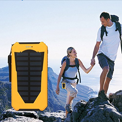 Top 10 Best Waterproof Portable Solar Power Bank