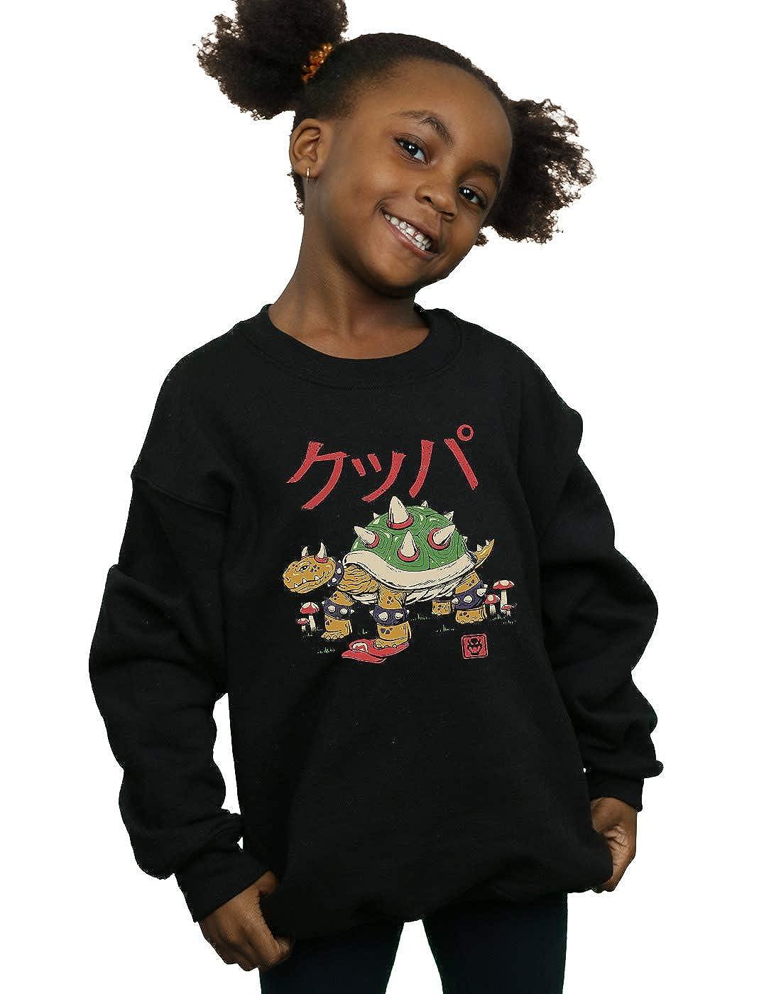 Vincent Trinidad Girls Turtle Demon King Sweatshirt