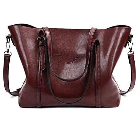 d01709cea25 Amazon.com: Fall Purse Fashion Top-Handle Bags Satchel Handbags for ...