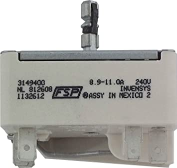 whirlpool infinite switch for range
