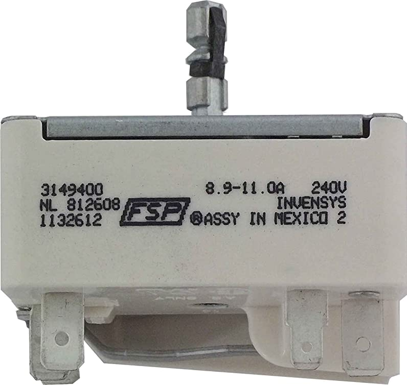 Whirlpool 3149400 Infinite Switch for Range, Pipe Cutters - Amazon ...