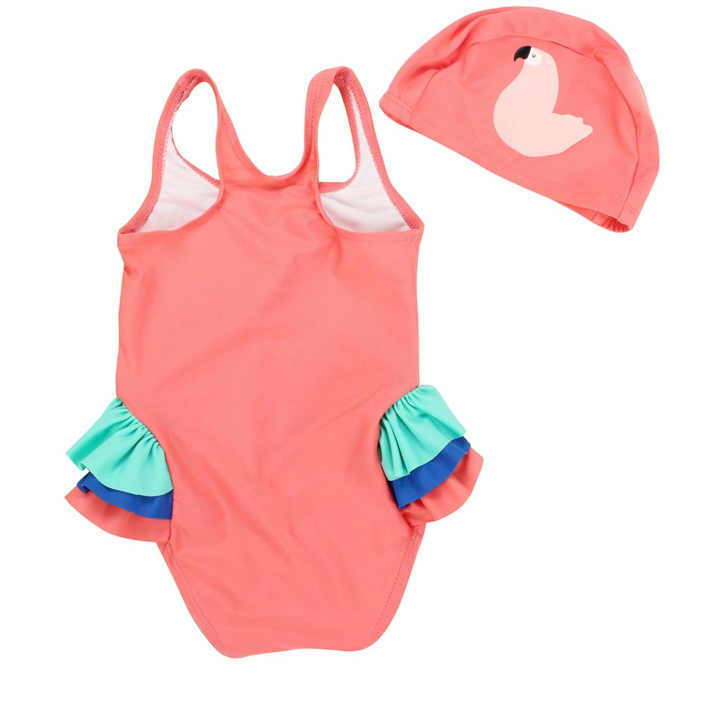 Vine Little Girls One Piece Swimwears Swimsuit Bikini Sets 1-9 Years