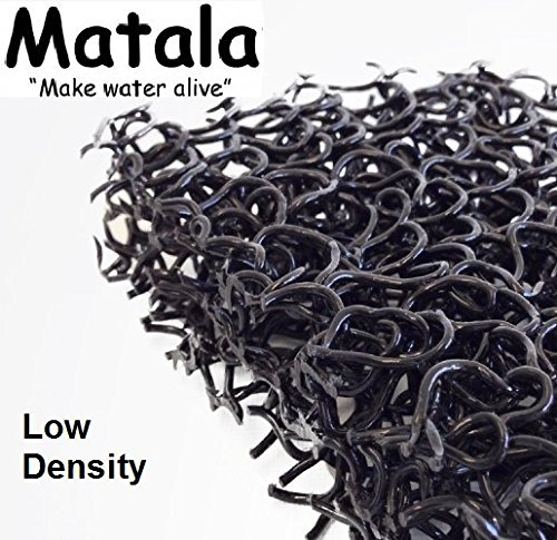 Matala Filter Sheet/Media Mat (Black) 24″ X 24″ -For Koi Pond Filtration