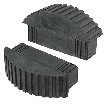 Gummi LeiterF/üsse 2 St/ück Clogs aus Gummi Universal Leiter Fu/ß Box