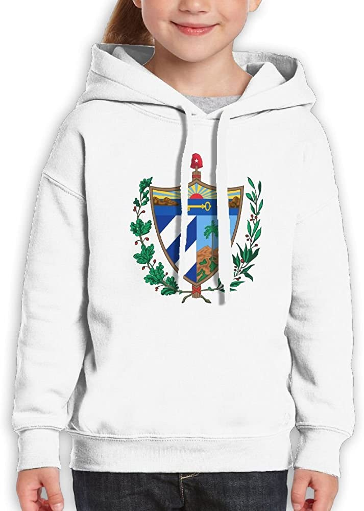 DTMN7 Coat Of Arms Of Cuba New Style Printed Crew-Neck Sweatshirt For Youth Spring Autumn Winter
