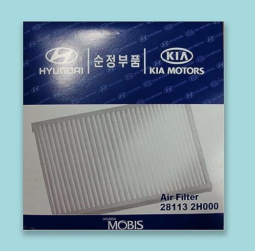 OEM 281132H000 Engine Air Clean Filter For 2007 2010 Hyundai Elantra