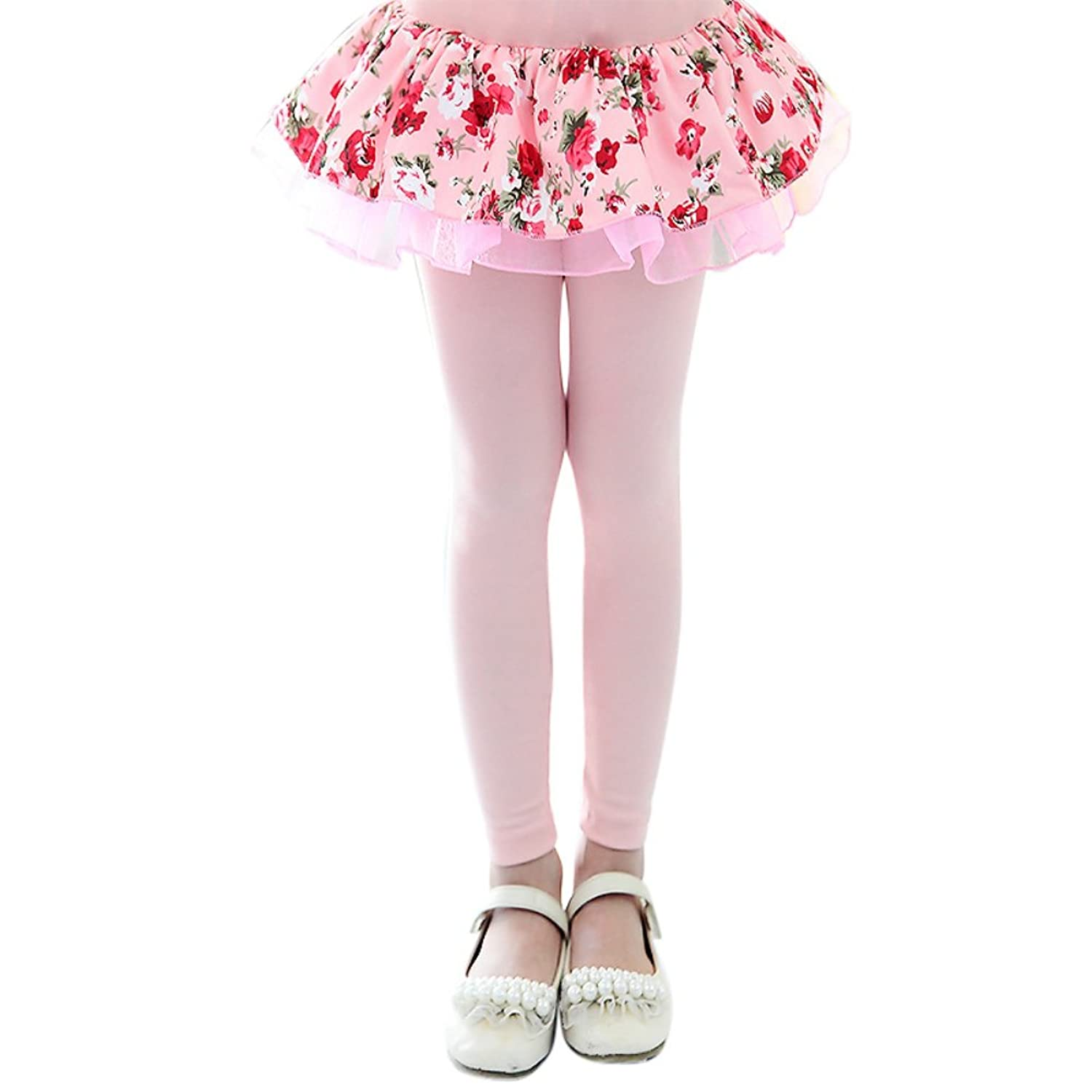 Luxsea Little Girls Pantskirts Kids Culotte Legging Pants Trousers Pantskirt