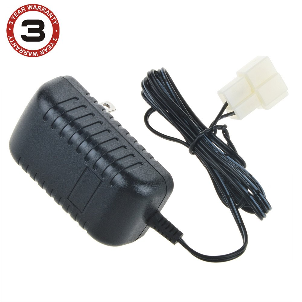 SLLEA AC Adapter Wall Charger for ROLLPLAY BMW Motorcycle W348AC Ride on 6VOLT