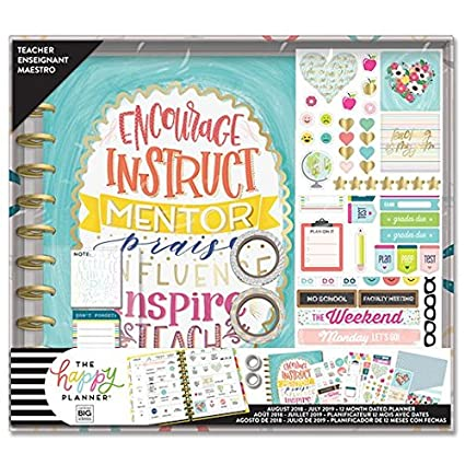 Create 365 The Big Happy Planner Seasonal Teacher Box Kit