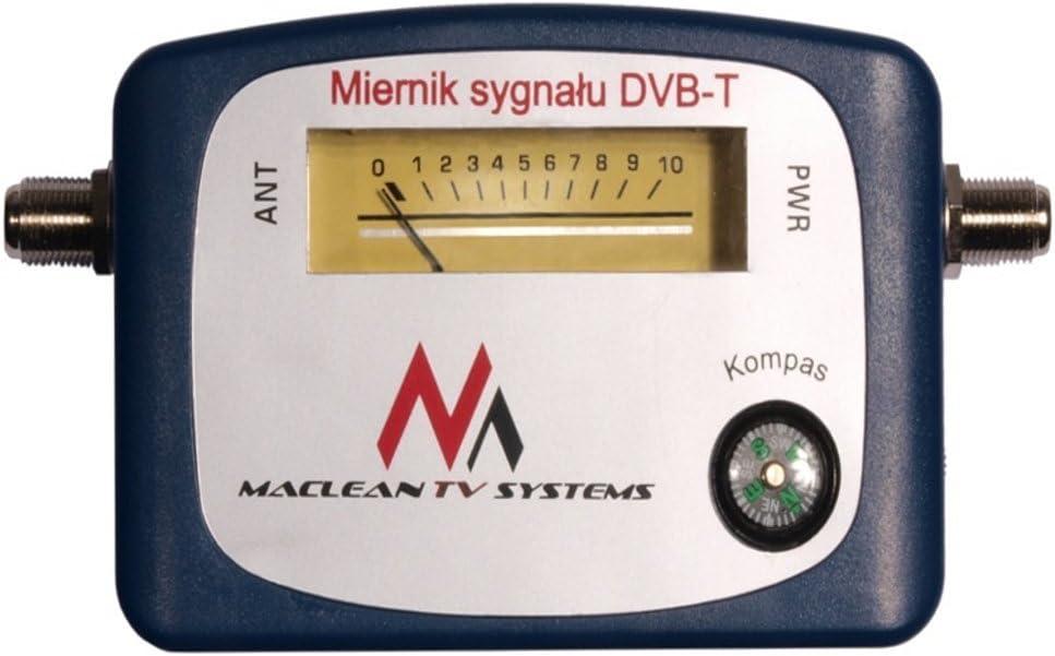 Marque+generique - Maclean mctv-627 - localizador de señal terrestre dvb-t (VHF, UHF, TV, TNT)