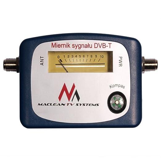 12 opinioni per Maclean MCTV-627 Misuratore l'Intensita Segnale Digitale Terrestre TV DVB-T