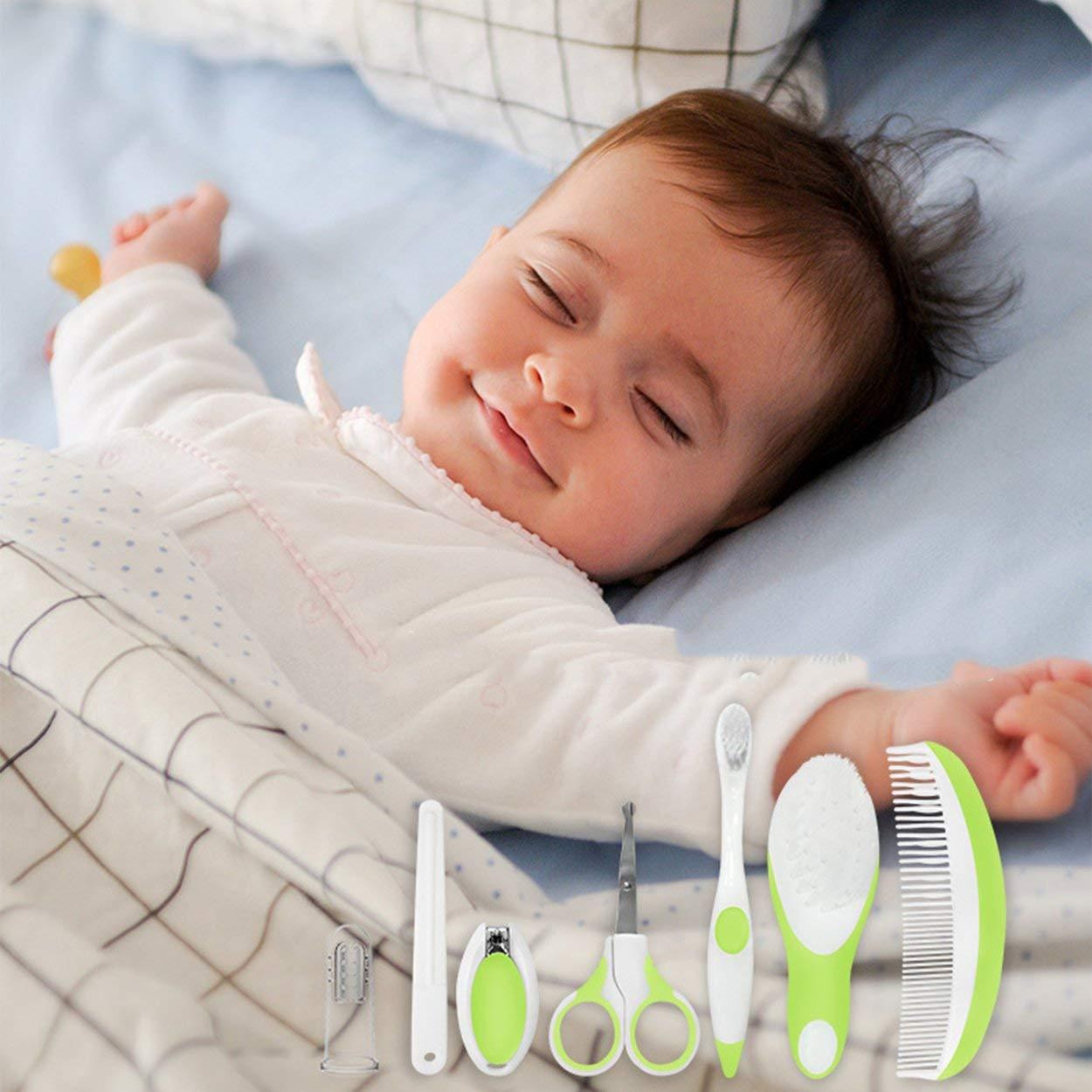 Lorenlli 7 Unids/set Cuidado Del Bebé Herramientas Bebé Manicura ...