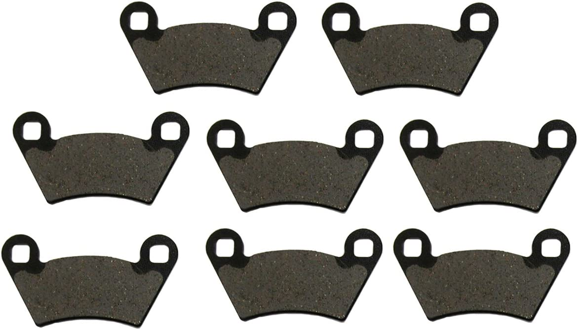 2004 2005 Polaris Ranger 500 6x6 Front and Rear Severe Duty Brake Pads