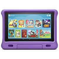 "All-New Fire HD 10 Kids Edition Tablet – 10.1"" 1080p full HD display, 32 GB, Purple Kid-Proof Case"