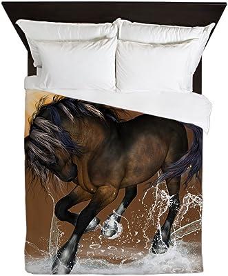 CafePress Beautiful Horse Queen Duvet Cover, Printed Comforter Cover, Unique Bedding, Microfiber