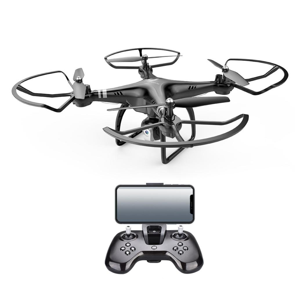 Lanspo Lanspo Lanspo RC Drone, x8 2.4G RC Quadcopter, Stromanpassung 0.3MP HD Kamera FPV Großraumbatterie Geschenk (Schwarz) d7ba40