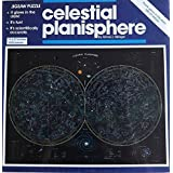 Celestial Planisphere; 1000 pc Glow In the Dark Jigsaw Puzzle by Great American Puzzle Factory