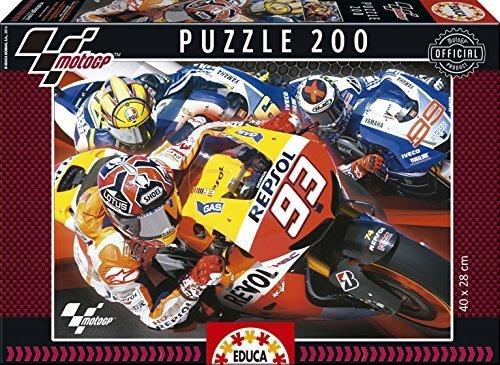 Educa Borras Puzzle Moto GP (200 Pieces) by Educa Borras