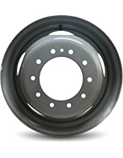 Road Ready Car Wheel For 08-18 Dodge Ram 4500 Ram 5500 19.5 Inch 10 Lug Steel Rim Fits R19.5 Tire - Exact OEM Replacement - Full-Size Spare