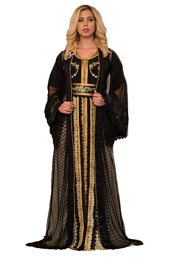Kolkozy Fashion Women's Partywear Jacket Size Style Size Mgoldccan Dress