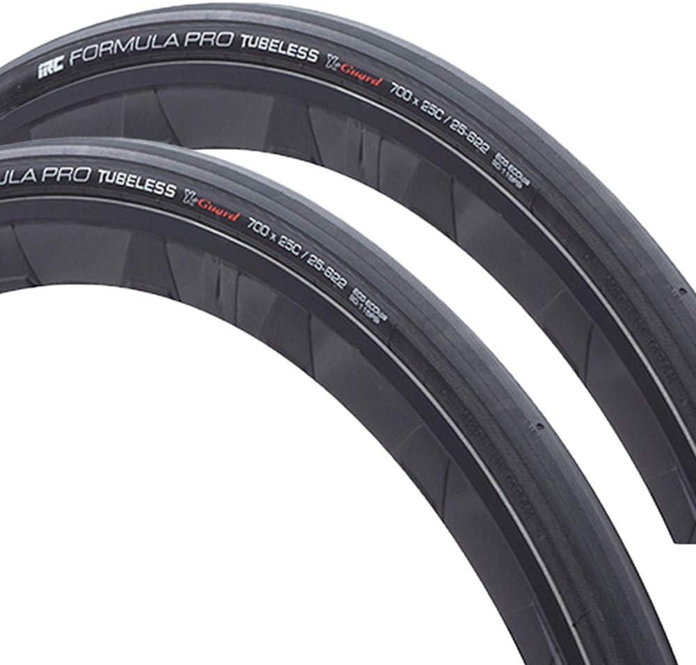IRC tire IRC FORMULA PRO TUBELESS X-Guard 190132 HP-92 700X25c ブラック 2本セット