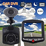 "Sedeta® car back camera Full HD 1080P 2.4"" LCD Car DVR Dash Cam Camera G-Sensor IR Night Vision"