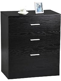dressers for bedroom. Yaheetech 3 Drawer Bedroom Dressers  Amazon com