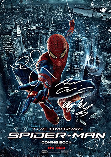 The Amazing Spider-Man (11.7 X 8.3) Spiderman Movie Print Andrew Garfield Emma Stone Rhys Ifans