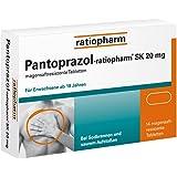 Pantoprazol-ratiopharm SK 20 mg Tabletten, 14 St.