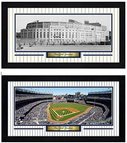 Yankee Framed Mini - (2) New York Yankees Mini-Frames Photos (Size: 6.75