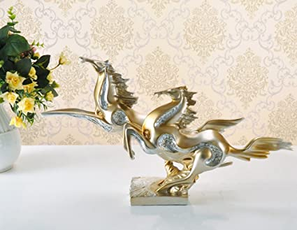 Camera Da Letto Color Champagne : Nydz pegasus sculpture ornaments soggiorno camera da letto