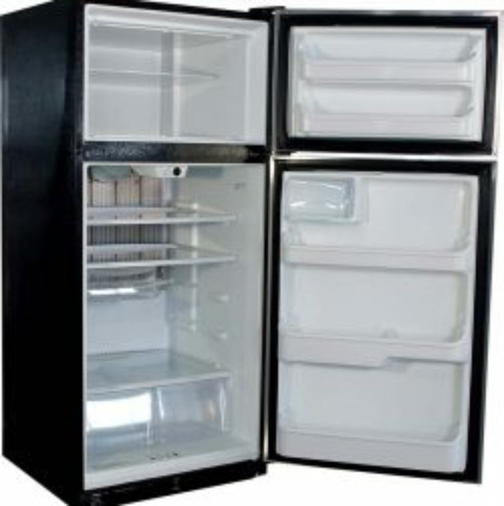 New Diamond Elite 19 Cu Ft Gas LP Propane Stainless Steel Top Freezer Refrigerator