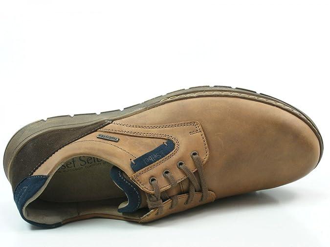 Josef Seibel 13857-768 Jonas 07 TopDryTex Chaussures basses homme, schuhgröße_1:42 EU;Farbe:marron