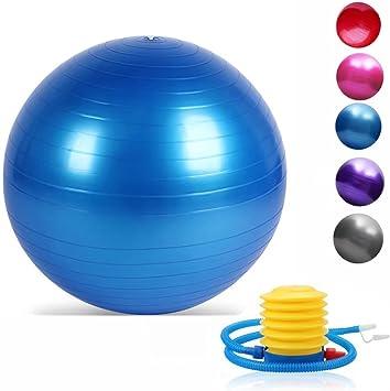 Amazon.com: Yoga pelota de ejercicio 45/55/65/75/85/311.7 ...