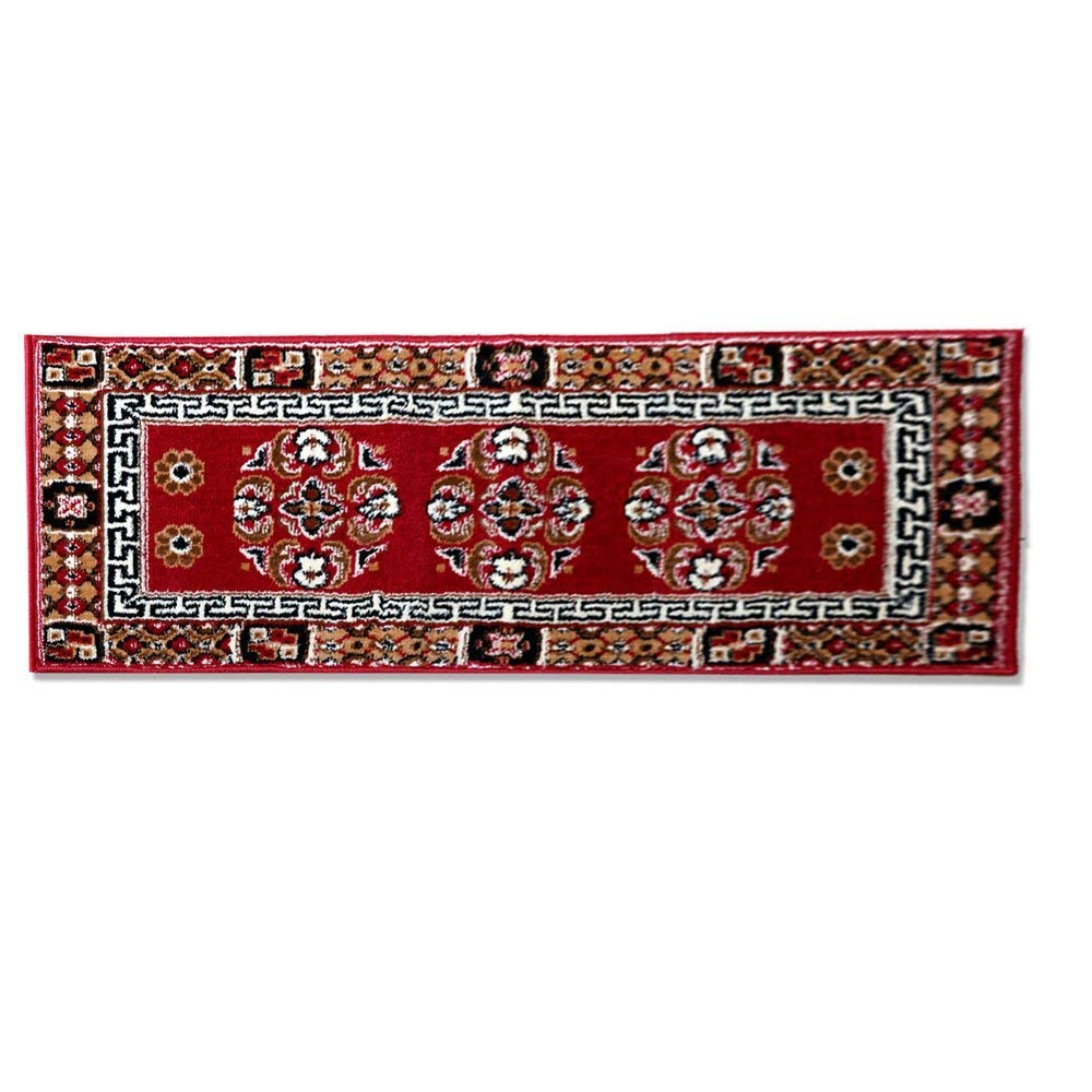 The Home Talk Traditional Design Bedside Runner/Rug/Passage Rug, 50 x 150 cm, Vascose, Soft- Red (B078N63VF8) Amazon Price History, Amazon Price Tracker