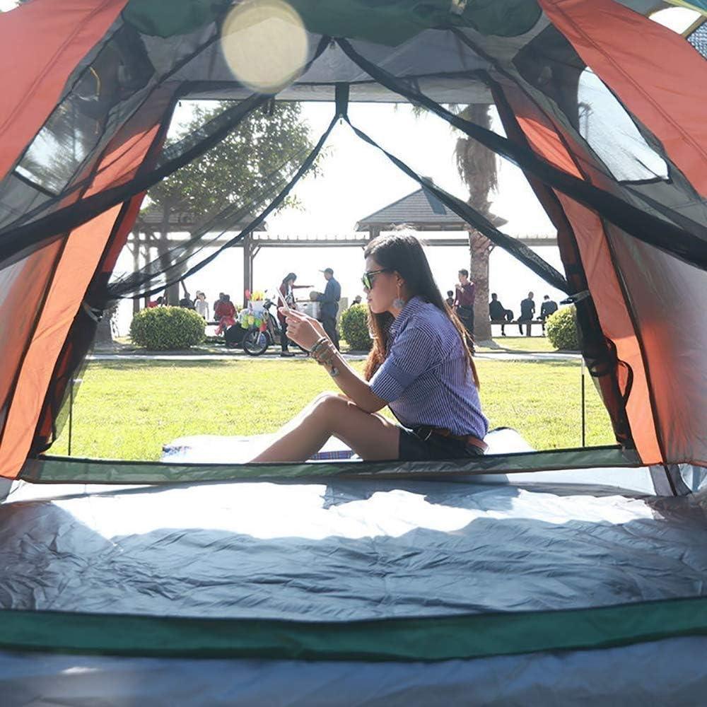 Hongsheng Carpa Emergente Automática para Acampar Al Aire Libre Toldo Impermeable Portátil, Adecuado para Jardín Familiar/Camping/Pesca/Playa,Verde Blue