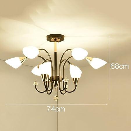 MJK Lampes suspendues, lustre de jardin en fer forgé de ...