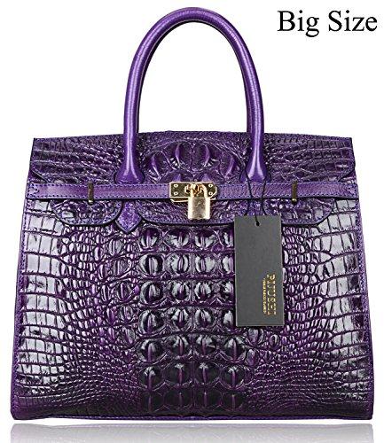 pijushi-classic-embossed-crocodile-purse-genuine-leather-office-ladies-handbags-satchel-padlock-tote