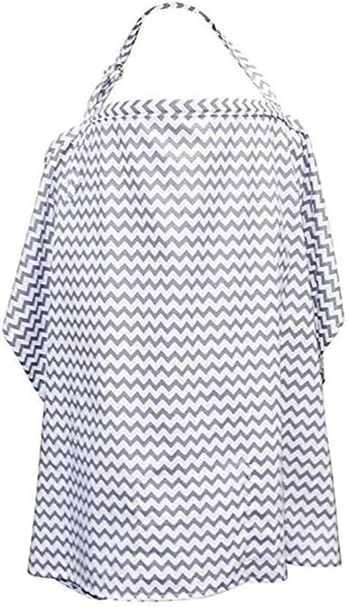 Baby Mum Breastfeeding Cover Cotton Nursing Udder Apron Blanket Shawl Cloth New