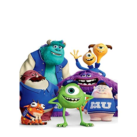 Amazon.com : Monsters Inc Backdrop 5x7 Vinyl Photo ...