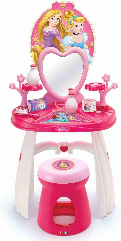 Smoby 7600320216 – Disney Princess tocador con Taburete: Amazon.es: Juguetes y juegos