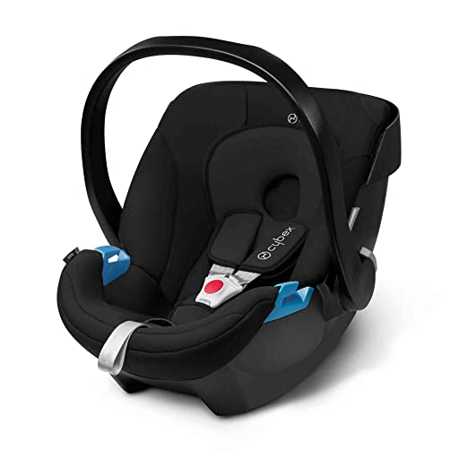 Lightweight Car Seat >> Amazon Com Cybex Aton Infant Car Seat Pure Black Baby