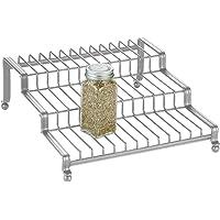 InterDesign York Lyra Spice Rack, Silver