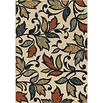 Allen Roth Bressay Off White Indoor Nature Area Rug 525 Ft W X 75 L Holiday Home Decor Amazoncouk Kitchen