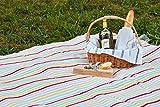 "Clara Clark 58"" x 78"" Camping Beach Picnic Outdoor"
