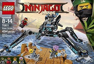 LEGO Ninjago Water Strider 70611 Building Kit (494 Piece) by LEGO