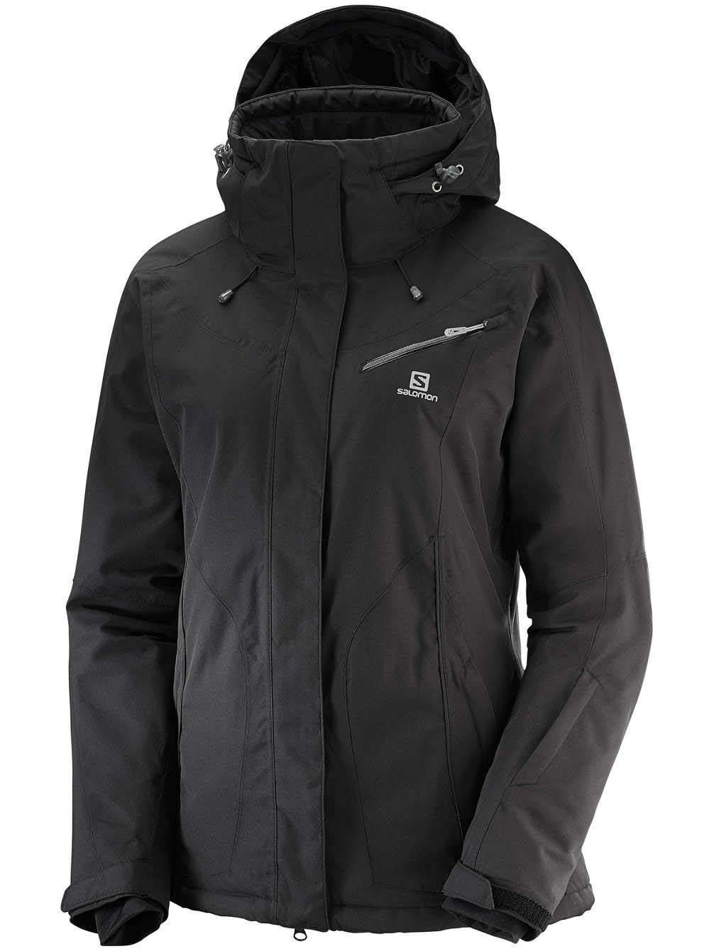 Salomon Fantasy JKT W - Chaqueta, Mujer, Negro(Black Heather)