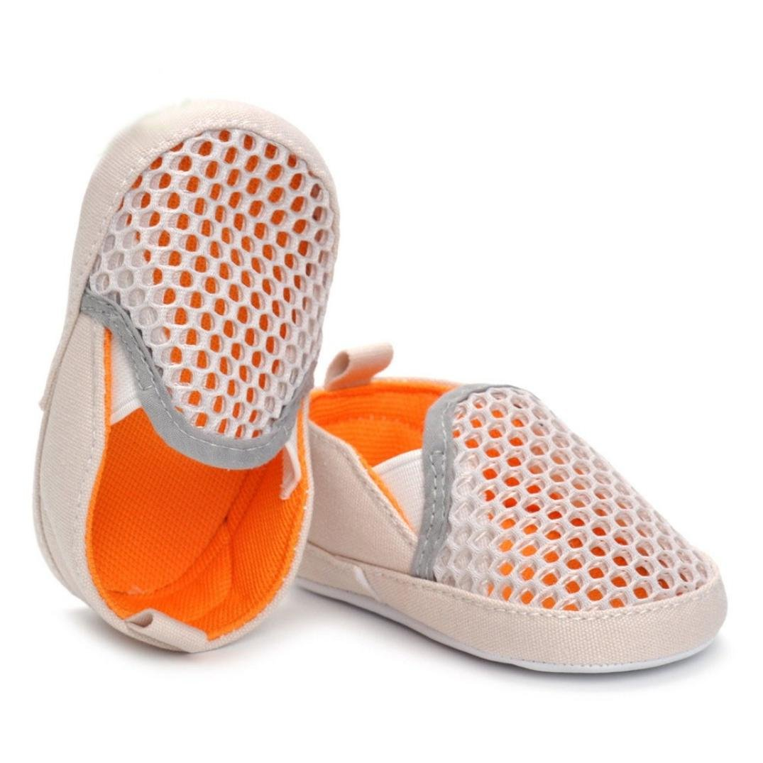 2018 Boys Girls Summer Mesh Slip-on Elastic Baby Sport Running Shoes WARMSHOP Casual Shoes for 3-12 Months